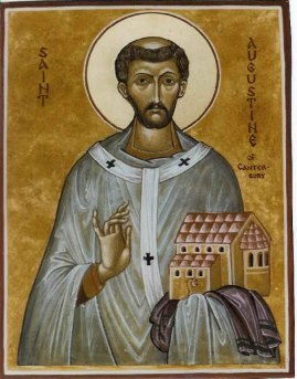 St Augustine of Canterbury icon